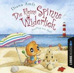 Ausflug ans Meer / Die kleine Spinne Widerlich Bd.6 (1 Audio-CD) - Amft, Diana