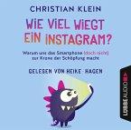 Wie viel wiegt ein Instagram?, 4 Audio-CDs