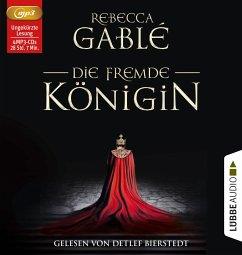 Die fremde Königin / Otto der Große Bd.2 (4 MP3-CDs) - Gablé, Rebecca