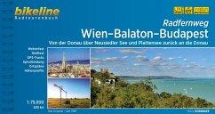 Bikeline Radtourenbuch Wien-Balaton-Budapest
