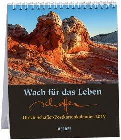Wach für das Leben 2019 - Postkartenkalender