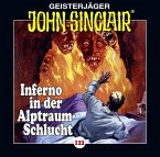 Inferno in der Alptraum-Schlucht / Geisterjäger John Sinclair Bd.122 (1 Audio-CD)