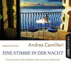Eine Stimme in der Nacht / Commissario Montalbano Bd.20 (4 Audio-CDs) - Camilleri, Andrea