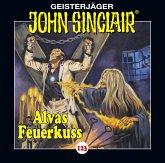 Alvas Feuerkuss / Geisterjäger John Sinclair Bd.123 (1 Audio-CD)