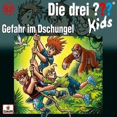 Gefahr im Dschungel / Die drei Fragezeichen-Kids Bd.62 (1 Audio-CD)