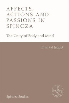 Affects, Actions and Passions in Spinoza