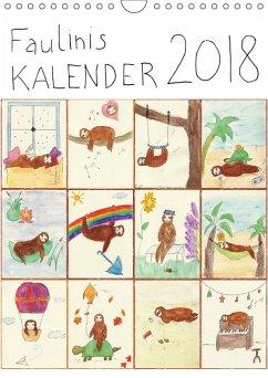 Faulinis Kalender 2018 (Wandkalender 2018 DIN A4 hoch)