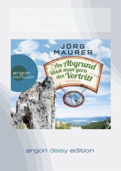 Am Abgrund lässt man gern den Vortritt / Kommissar Jennerwein ermittelt Bd.10 (DAISY Edition) (1 Audio-CD, MP3 Format) - Maurer, Jörg