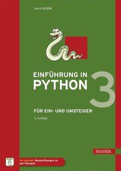 Einführung in Python 3 (eBook, PDF) - Klein, Bernd