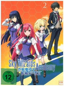 Sky Wizards Academy - Vol 2 (Episoden 7-12+OVA) - 2 Disc DVD
