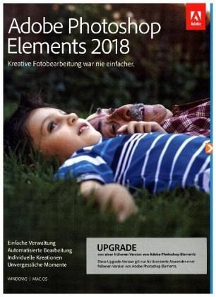 Adobe Photoshop Elements 2018 Macwin Upgrade 65282082 Software