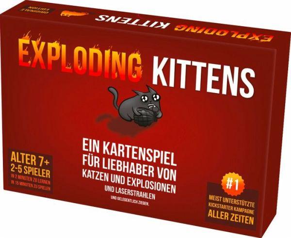 Exploding Kittens Spiel Bei Bucher De Immer Portofrei