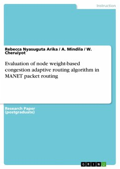 Evaluation of node weight-based congestion adap...