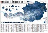 Skigebiete Österreichs, Planokarte