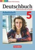 Deutschbuch Band 5: 9. Schuljahr - Differenzierende Ausgabe Baden-Württemberg - Arbeitsheft mit interaktiven Übungen auf scook.de