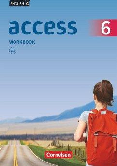 English G Access Band 6: 10. Schuljahr - Allgemeine Ausgabe - Workbook mit Audios online - Seidl, Jennifer