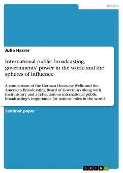 International public broadcasting, governments' power in the world and the spheres of influence (eBook, ePUB)