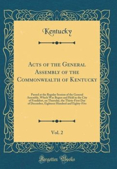 Acts of the General Assembly of the Commonwealt...