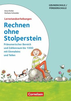Rechnen ohne Stolperstein - Neubearbeitung: Zu allen Bänden - Lernzielkontrollen - Kistler, Anna; Schneider, Stefanie