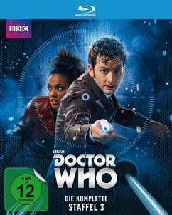 Doctor Who - Die komplette Staffel 3 BLU-RAY Box - Tennant,David/Agyeman,Freema