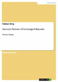 Success Factors of Leveraged Buyouts (eBook, ePUB)