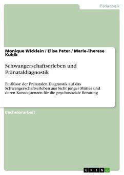 Schwangerschaftserleben und Pränataldiagnostik (eBook, ePUB)