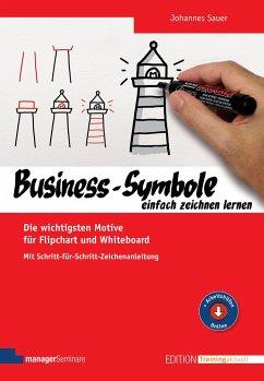 Business-Symbole einfach zeichnen lernen - Sauer, Johannes