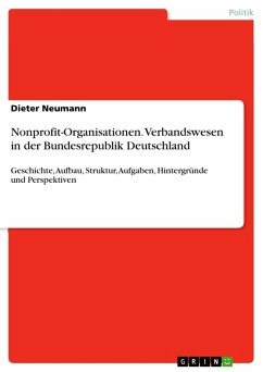 Nonprofit-Organisationen. Verbandswesen in der Bundesrepublik Deutschland (eBook, ePUB)