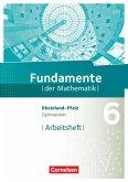 Fundamente der Mathematik 6. Schuljahr - Rheinland-Pfalz - Arbeitsheft mit Lösungen