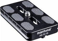 mantona AS-70-1S Schnellwechselplatte