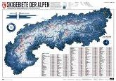 275 Skigebiete der Alpen, Planokarte