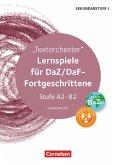 Textorchester. Lernspiele für DaZ-Fortgeschrittene Stufe A2-B2. Kopiervorlagen