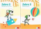 Zebra 2. Paket: Arbeitsheft Lesen/Schreiben/Arbeitsheft Sprache
