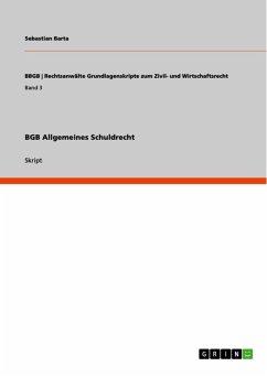 BGB Allgemeines Schuldrecht (eBook, ePUB)