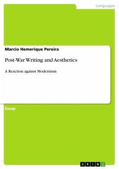 Post-War Writing and Aesthetics (eBook, ePUB)