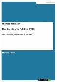 Der Preußische Adel bis 1918 (eBook, ePUB)