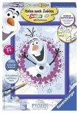 Disney Frozen: Olaf. Malen nach Zahlen Serie E Brilliant