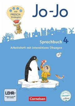Jo-Jo Sprachbuch 4. Schuljahr - Allgemeine Ausgabe - Arbeitsheft - Brunold, Frido; Meeh, Sandra; Naumann-Harms, Henriette; Stanzel, Rita