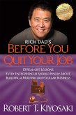 Rich Dad's Before You Quit Your Job (eBook, ePUB)