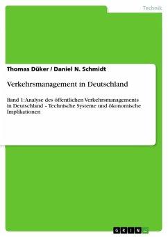 Verkehrsmanagement in Deutschland (eBook, ePUB)