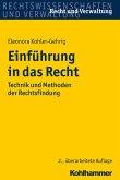 Einführung in das Recht (eBook, ePUB)