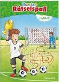 Bunter Rätselspaß Fußball ab 7 Jahren