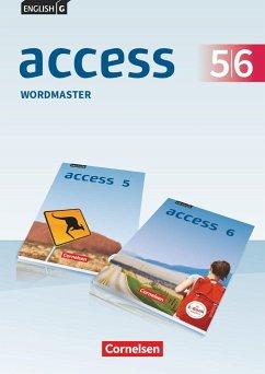 English G Access Band 5/6: 9./10. Schuljahr - Allgemeine Ausgabe - Wordmaster mit Lösungen - Wright, Jon