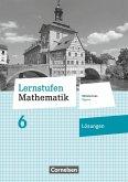 Lernstufen Mathematik 6. Jahrgangsstufe - Mittelschule Bayern - Lösungen zum Schülerbuch