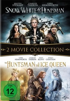 Snow White & the Huntsman / The Huntsman & The Ice Queen DVD-Box - Kristen Stewart,Charlize Theron,Chris Hemsworth
