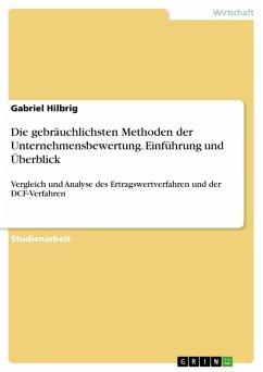 Die gebräuchlichsten Methoden der Unternehmensbewertung. Einführung und Überblick (eBook, PDF) - Hilbrig, Gabriel