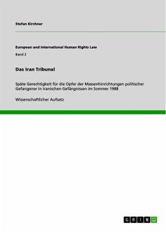 Das Iran Tribunal (eBook, ePUB)
