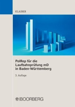 PolRep für die Laufbahnprüfung mD in BW - Klaiber, Dennis