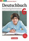 Deutschbuch Gymnasium 6. Jahrgangsstufe - Bayern - Schulaufgabentrainer mit Lösungen