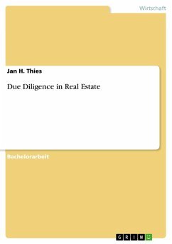 Due Diligence in Real Estate (eBook, ePUB)